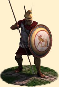 EB2 Greek Elite Hoplites
