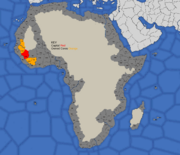 Map showing Mali's 1492 starting position