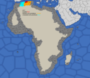 Algiers starting position in 1700