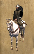 Castillian Man at Arms mounted