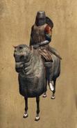 Mesnadero mounted