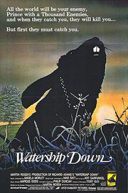 Movie poster watership down
