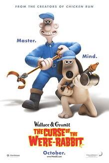 Wallace gromit were rabbit poster