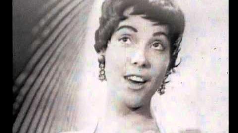 Eurovision 1957 - Netherlands - Corry Brokken - Net als toen HQ SUBTITLED