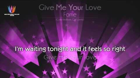 "2003 Fame - ""Give me your love"""