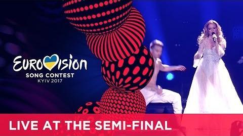 Tijana Bogićević - In Too Deep (Serbia) LIVE at the second Semi-Final
