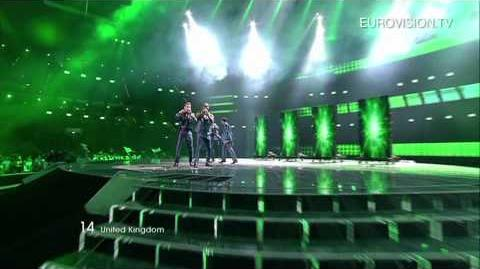 Blue - I Can (United Kingdom) - Live - 2011 Eurovision Song Contest Final