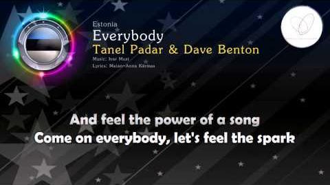 """2001 Tanel Padar & Dave Benton - """"Everybody"""" (Estonia)"""