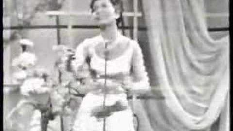 Switzerland 1958 Lys Assia - Giorgio