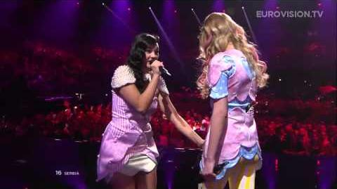 Moje 3 - Ljubav Je Svuda (Serbia) - LIVE - 2013 Semi-Final (1)