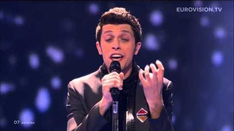 Aram MP3 - Not Alone (Armenia) LIVE Eurovision Song Contest 2014 Grand Final