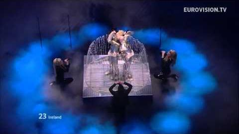 Jedward - Waterline - Live - Grand Final - 2012 Eurovision Song Contest