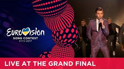 Robin Bengtsson - I Can't Go On (Sweden) LIVE at the Grand Final of the 2017 Eurovision Song Contest