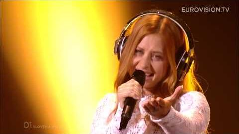 Maraaya - Here For You (Slovenia) - LIVE at Eurovision 2015 Grand Final