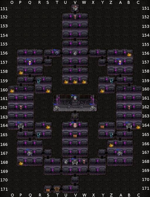 Princess Hunting Dungeon Meister-03-04 map