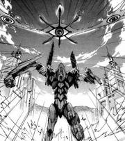 Sahaquiel Eva-01 (manga)