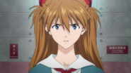 Asuka meets Rei (Rebuild)