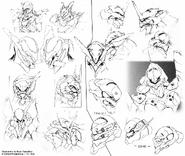 Evangelion heads