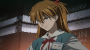 Asuka upset (Rebuild)