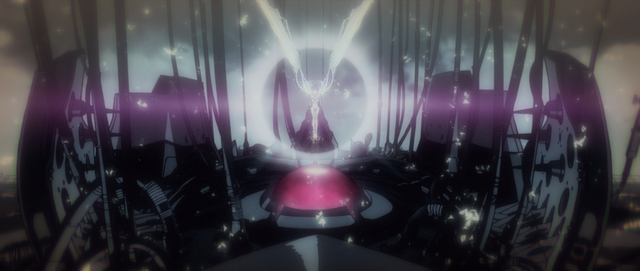 File:Yui's absorbed into Unit-01 (Rebuild).png