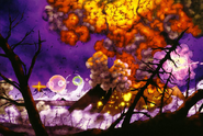 Zeruel destroys Nerv HQ (Rebuild) Artwork