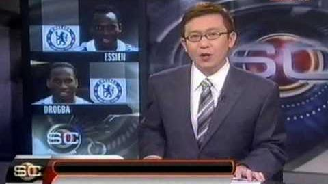 ESPN Sportscenter 惡搞容祖兒 艾辛