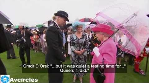 Oh bad luck Queen's unguarded comments on Chinese state visit