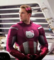 Captain America Hello Kitty Suit