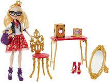 Doll stockphotography - Back to School Apple