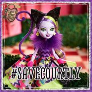 Facebook - Kitty's saving Courtly