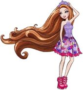 Profile art - Hairstyling Holly Full Body