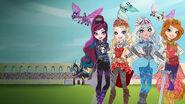 Dragon Games Main Characters Art