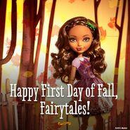 Facebook - start of fall