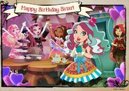 Facebook - Briar's birthday