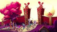 Way Too Wonderland - Card Castle entrance