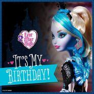 Facebook - Faybelle Birthday