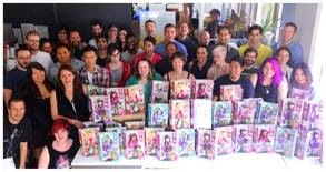 Ever After High Crew at Guru Studios