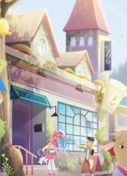 Lizzie Hearts's Fairytale First Date - Hocus Latte