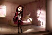Diorama - Raven in her room