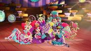 Way Too Wonderland - girls fall down