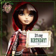 Facebook - happy birthday Cerise