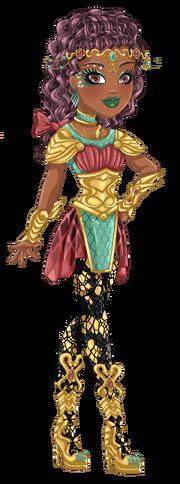 Pythia Adalinda Dragon Games-No BG