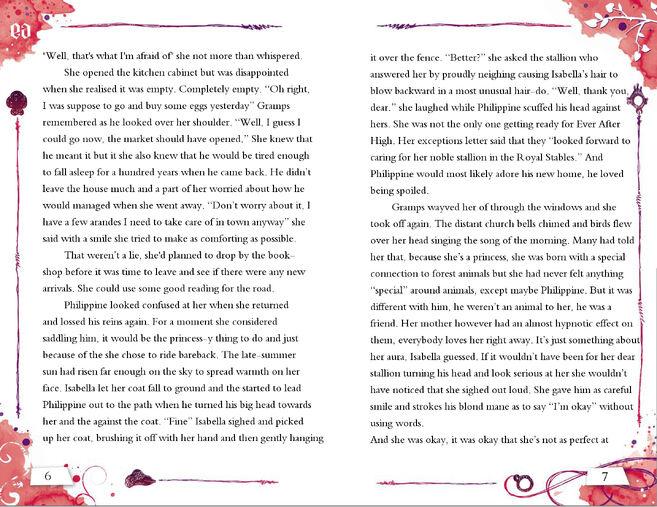 Isabella Story 6-7
