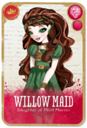 Willow Front Card