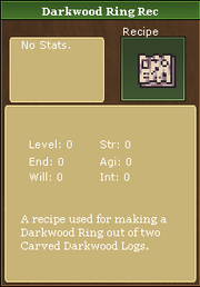 Dark Wood Ring Recipe
