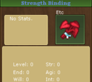 Strength Binding