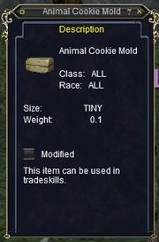 Animal Cookie Mold