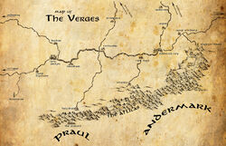 The Verges map