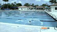 Francisco in pool