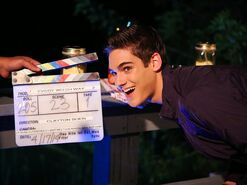 Every-witch-way-cast-star-nick-merico-daniel-miller-with-clapperboard-nickelodeon-nick-dot-com-blog-eww 5